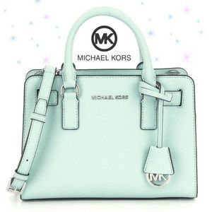 Kors Dillon East West Shoulder Celadon